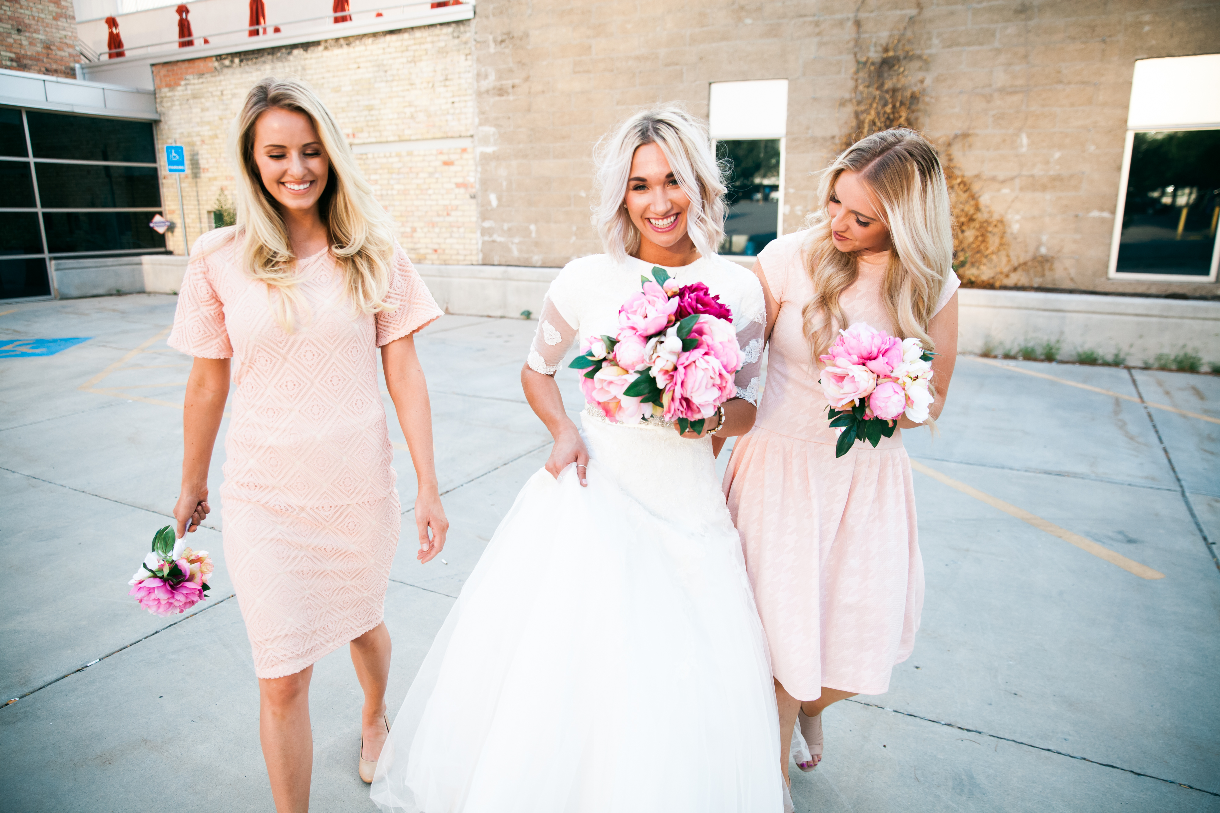 We Styled White Bridesmaid Dresses With Polka Dots What Arent You Not Supposed To Wear A Wedding